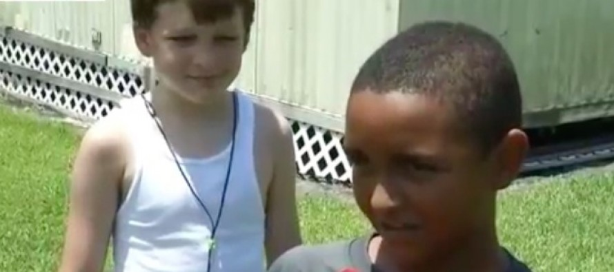 When They Find Out Infants Are Trapped in a Raging Fire, Two Little Boys Show What They're Made Of