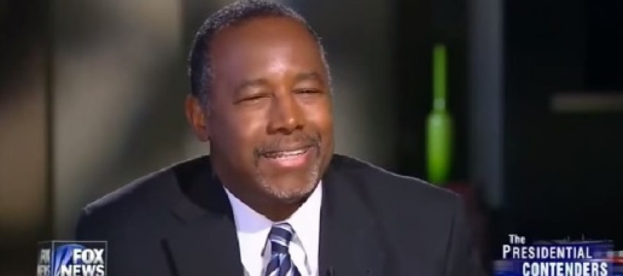 Ben Carson Scoffs At Gay 'Civil Rights' Argument: They Never Had Separate Water Fountains