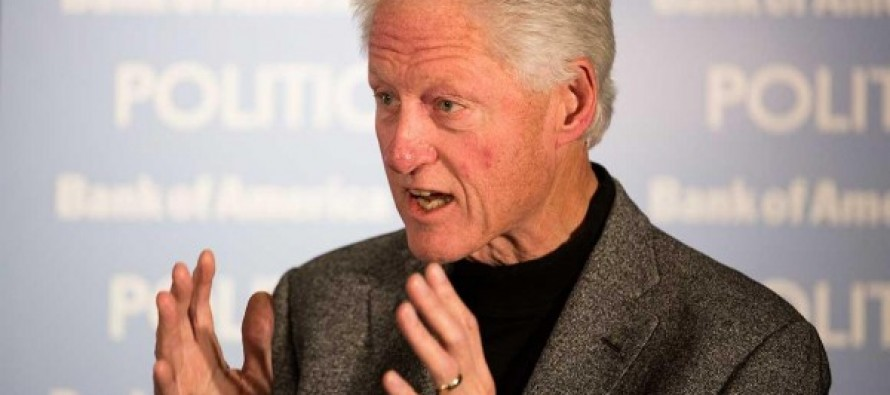 Bill Clinton: 'You Can't Have People Walking Around With Guns'