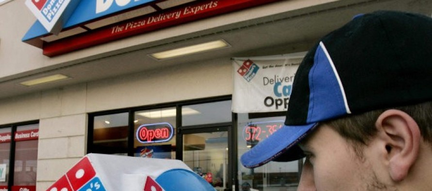 Armed Domino's Driver Turns Tables, Shoots Robbers
