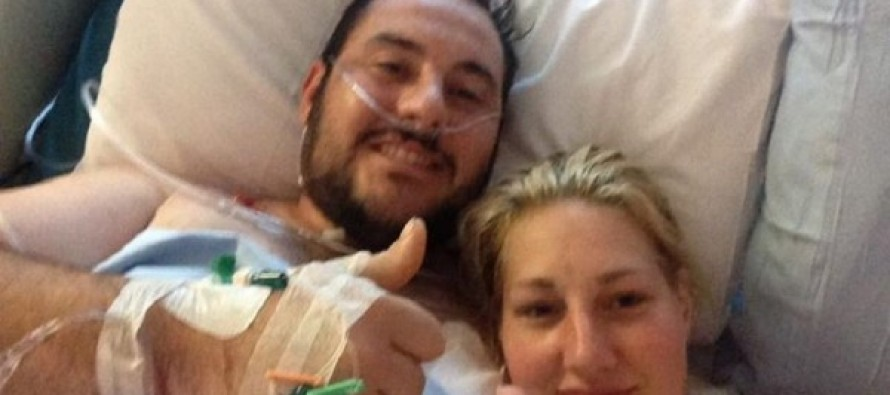 He Took Bullets to Save His Fiancée. Now There's A Big Update On How He's Doing