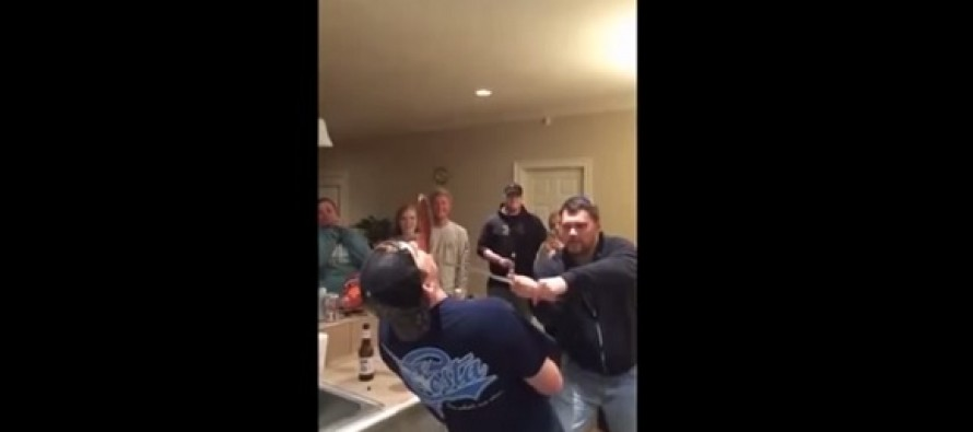 Drunken Sword-Trick Accident Causes Man To Lose Nose