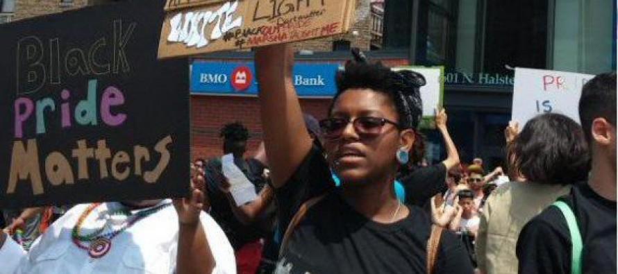 VIDEO=> #BlackLivesMatter Disrupts Chicago Gay Rights Parade, 2 People Shot