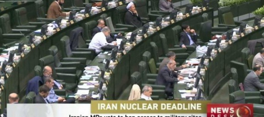 "Iranian Parliament Chants ""Death to America"" and Votes to Ban Nuclear Inspections [VIDEO]"