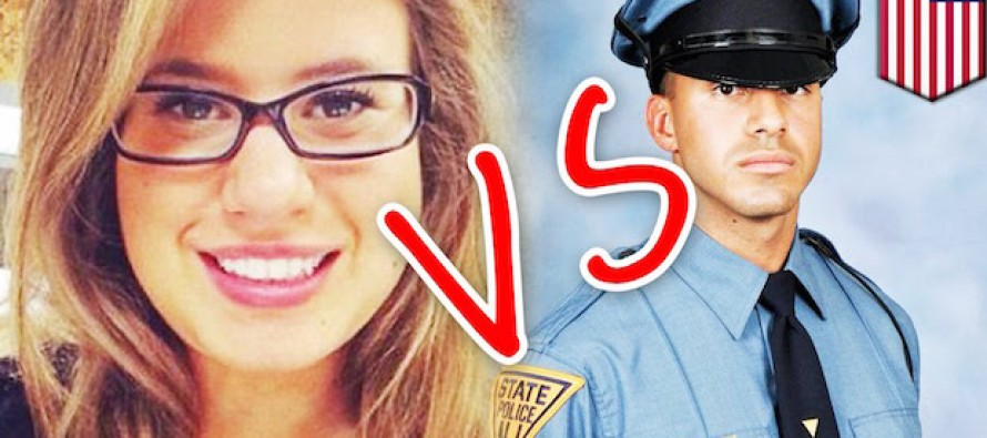 This Woman Trashed a Dead Cop, and Then Karma Paid Her a Visit Hours Later