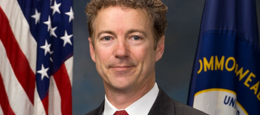Rand Paul sues the IRS and Treasury Department