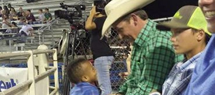 "Mom Writes a Grateful Letter to the ""Stranger Next to Us at Rodeo"" – The Next Day She Realizes Who He Is"