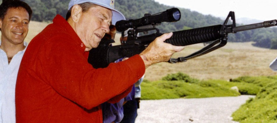 I Bet You Didn't Know Ronald Reagan Was THIS MUCH of a Fan of the 2nd Amendment