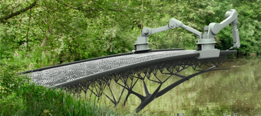 THE FUTURE IS HERE! You'll never believe how they're going to build this bridge in Amsterdam