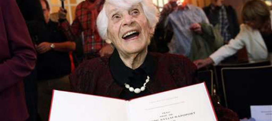 Denied under Nazis, 102-year-old woman gets doctorate