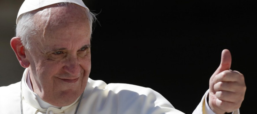WHAT?! Pope Francis Says You Can't Make or Invest in Guns and be a Christian