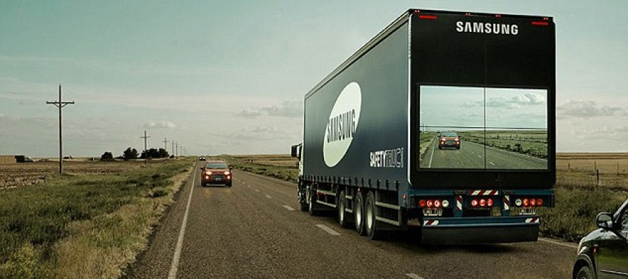 Samsung's new transparent Safety Trucks allow drivers to see when safe to pass [Video]