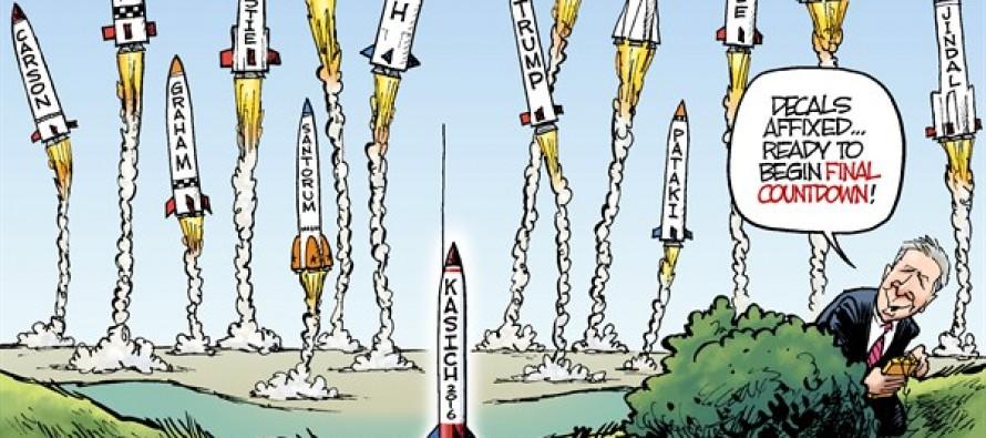 The 2016 Launch (Cartoon)