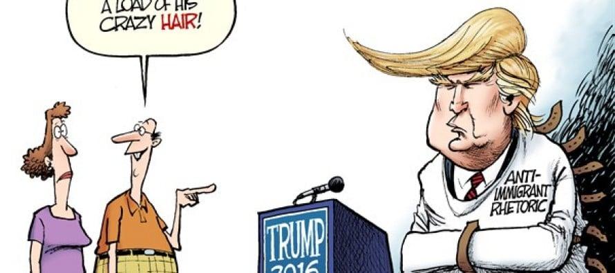 Crazy Trump (Cartoon)