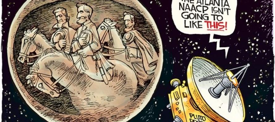 Stone Mountain Pluto (Cartoon)