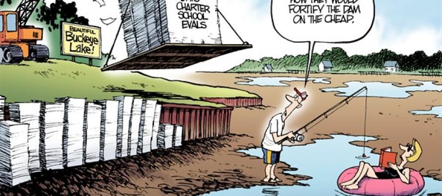 LOCAL OH – Buckeye Lake (Cartoon)