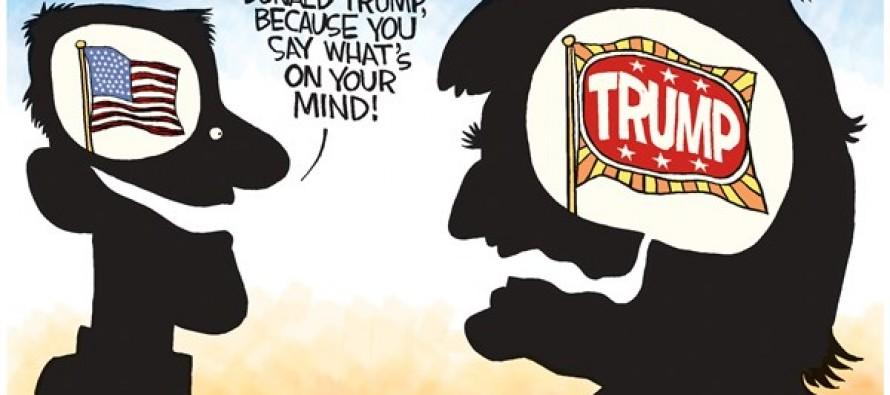 Trump Mind (Cartoon)