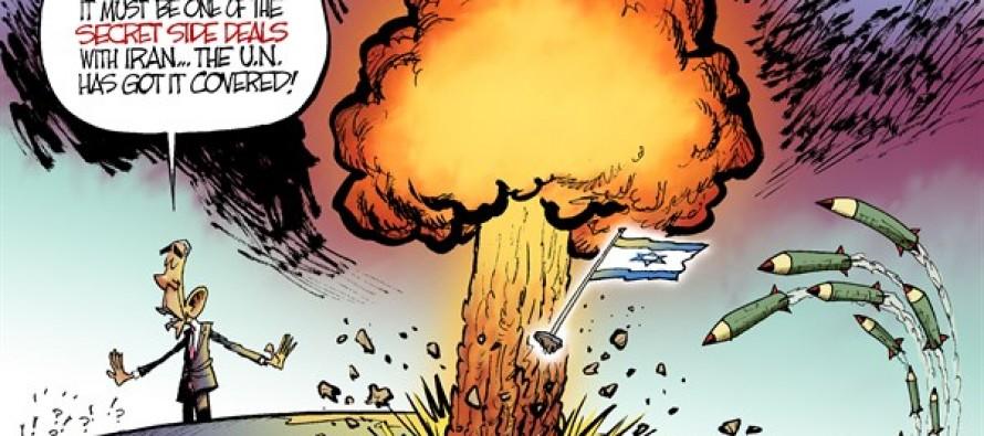 Iran Side Deals (Cartoon)