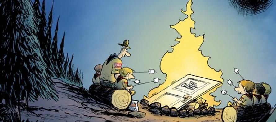 Campfire Tolerance (Cartoon)