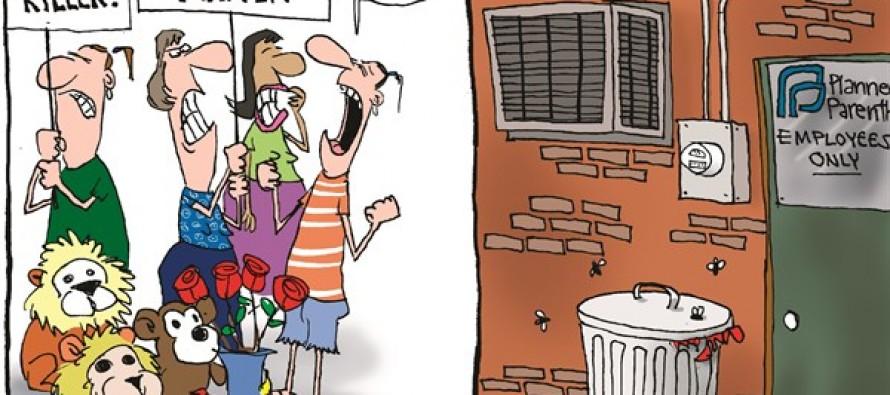Cecil vs Baby (Cartoon)