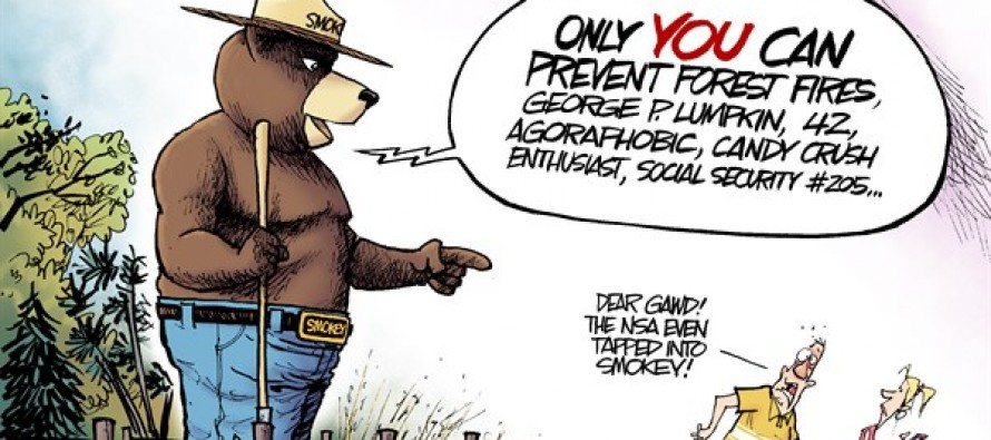 LOCAL OH – Smokey the Bear (Cartoon)