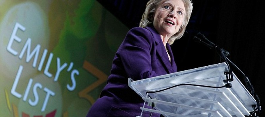 Hillary Clinton to Partake in $60M Campaign to Turn Washington D.C. Female and Pro-Choice