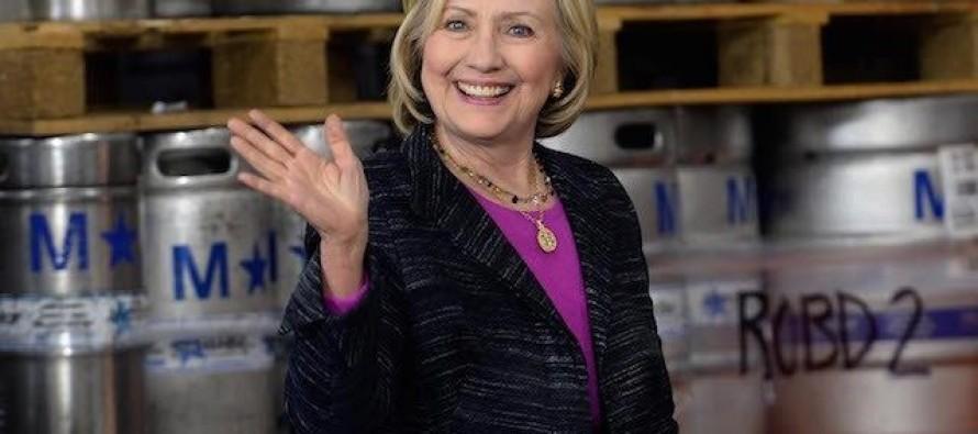 Hillary Clinton Watches Poll Numbers Plummet