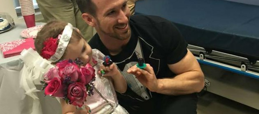 "Four-Year-Old Cancer Patient ""Marries"" Favorite Nurse"