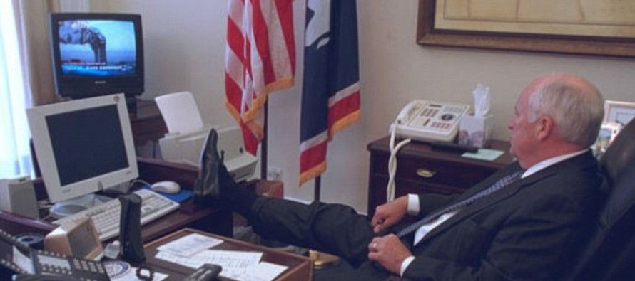 Never Before Seen Images Showing Top Bush Officials Reactions On 9/11 Are Emotionally Gripping