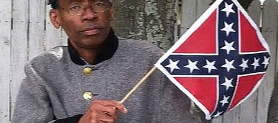 Al McCray Defends the Confederate Flag as a Black Member of a Veteran Group