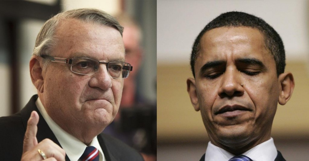 Arpaio vs Obama