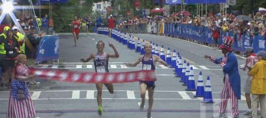 American Runner Who Prematurely Celebrated His 'Victory' Beaten by British Olympian in Peachtree 10K