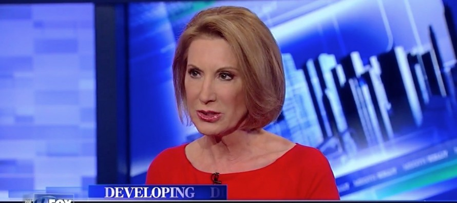 Carly Fiorina: Hillary Clinton 'Has Blood on Her Hands' Over Benghazi Deaths [VIDEO]