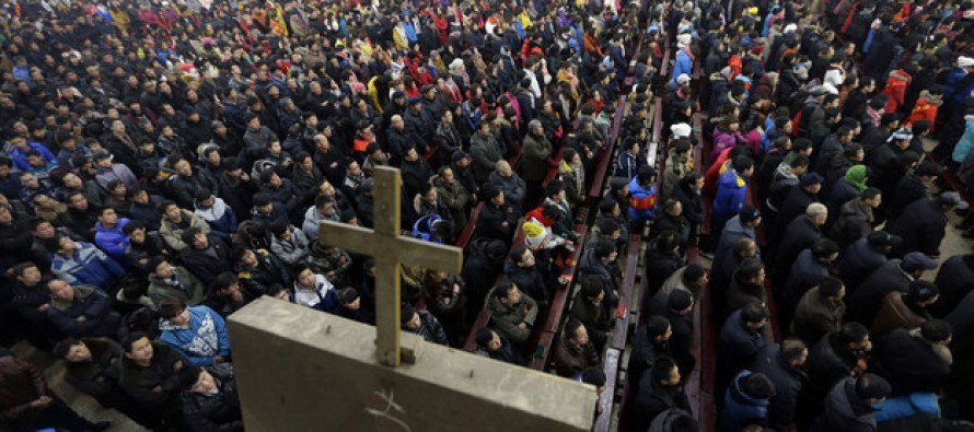 Chinese Christians Vow To Make Thousands Of Crosses Amid Communist Crackdown