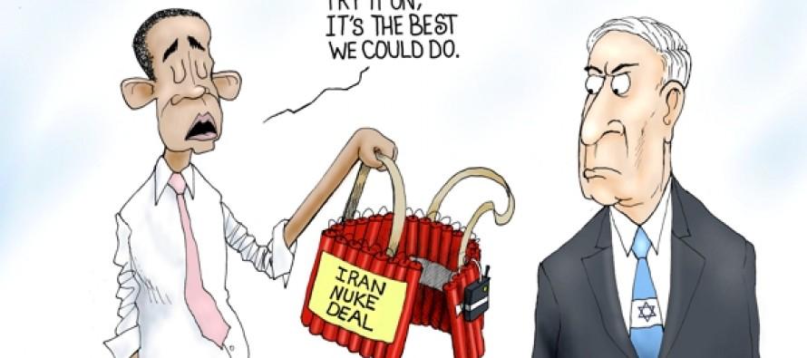 Israel Iran Deal (Cartoon)