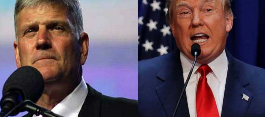 Most people probably didn't expect Franklin Graham to say this about Donald Trump!