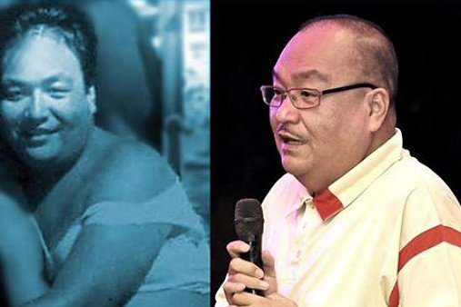"""Anthony Roquel was known as Tonette Macho, a gay character in the popular sitcom """"Iskul Bukol"""" in Manila."""
