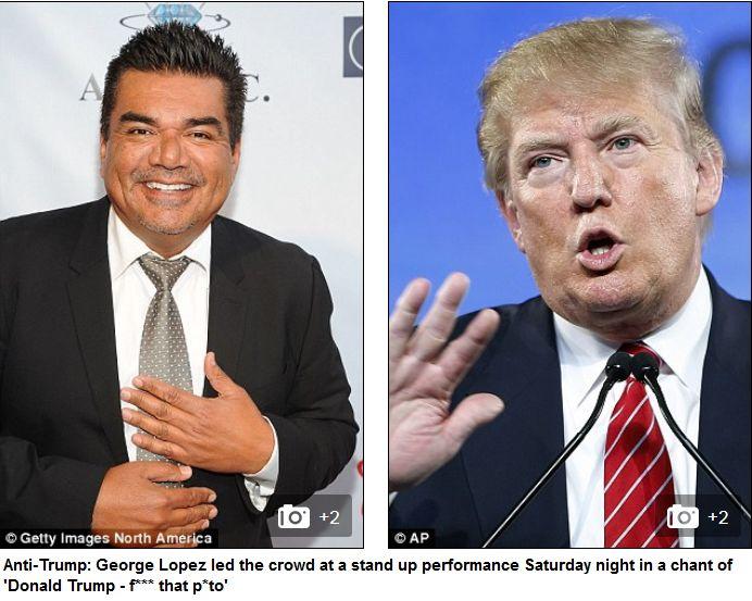 George Lopez Donald Trump