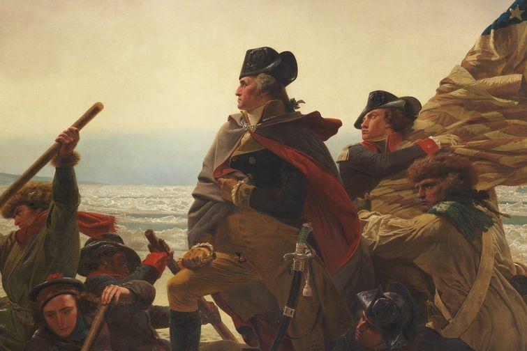 George Washington crosses the Delaware