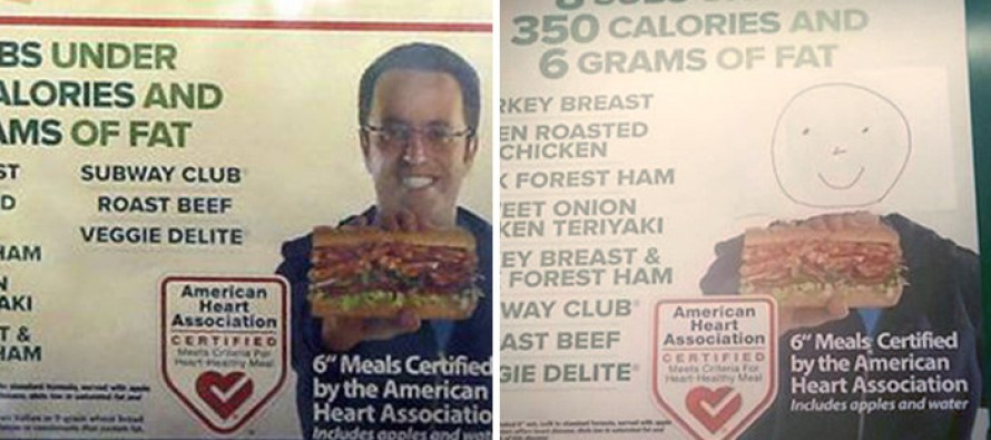 Subway Orders All Jared Fogle Signs Down… But With A Catch