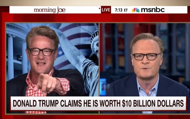 Joe Scarborough Lawrence ODonnell
