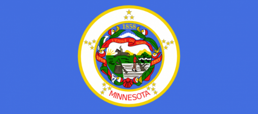 Leftists Want Minnesota Flag Taken Down Because It Shows White Man Working