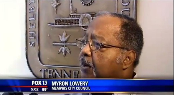 Myron Lowery, the Memphic city councilman leading the charge to dig up Confederate General Nathan Bedford Forrest and his wife.