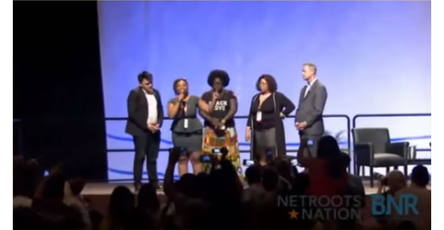 Netroots Nation disruption