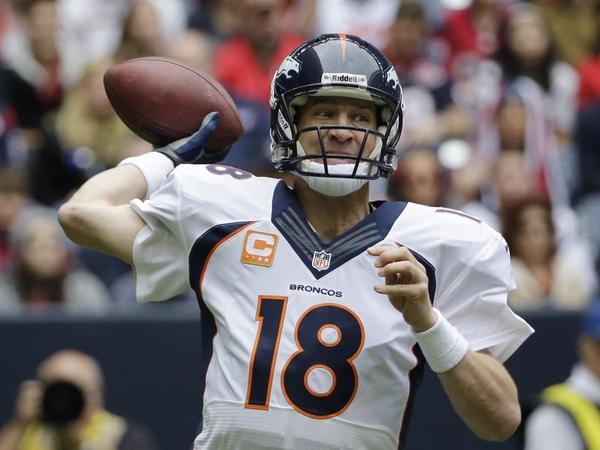 Denver Broncos' Peyton Manning (Image source: AP/David J. Phillip)