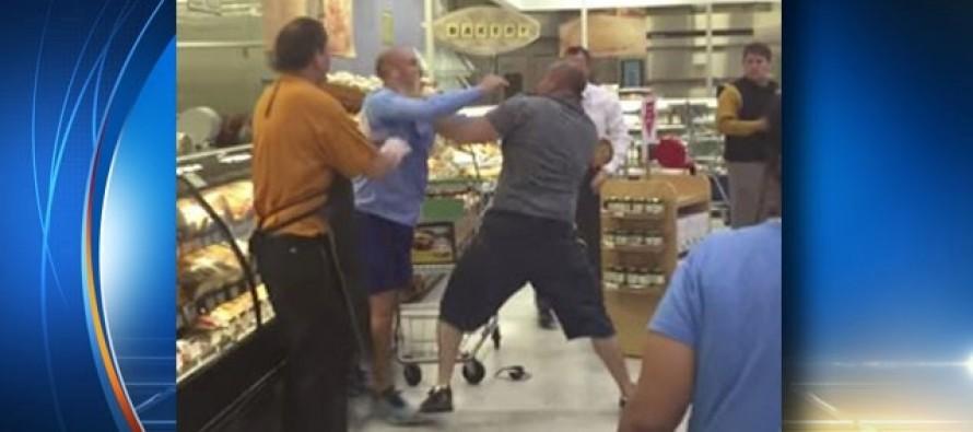 [VIDEO] 2 Men Brawl in Upscale Orlando Publix Deli Aisle