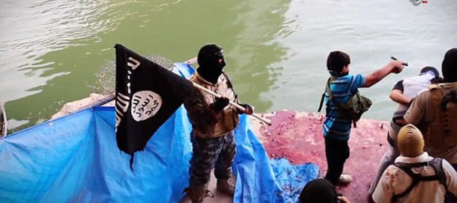 Shocking footage shows how Islamic State's evil has spread to the next generation
