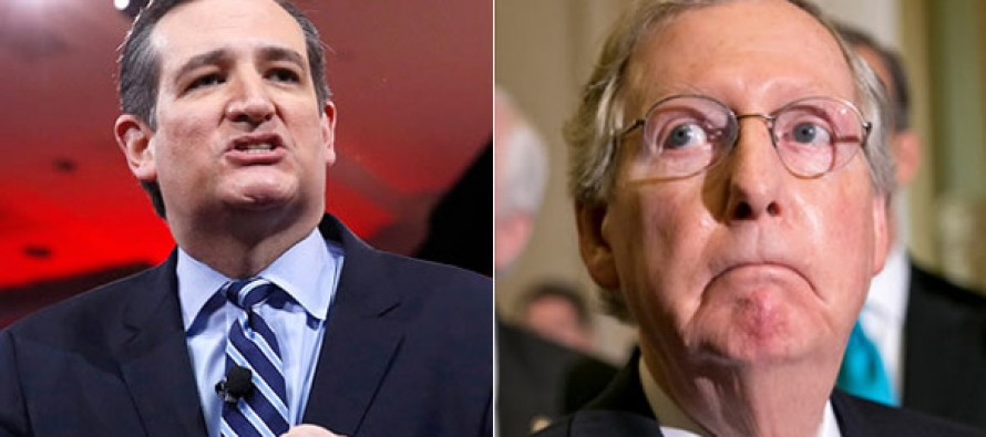 Ted Cruz SLAMS McConnell AGAIN After Ex-Im Bank Vote