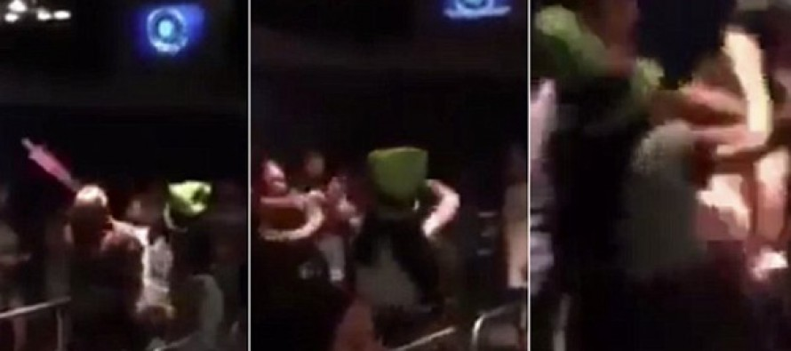 Three women caught on camera getting into massive brawl at Epcot with one attacking a park employee