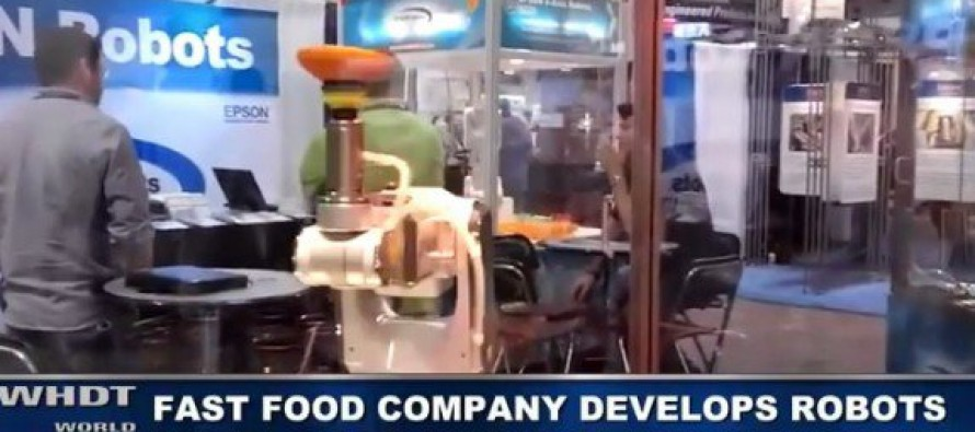 Tech Company Develops Robots to Take the Place of $15 an Hr Workers [Video]
